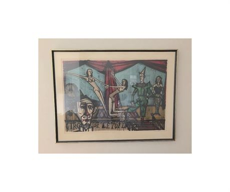 Bernard Buffet Signed Lithograph