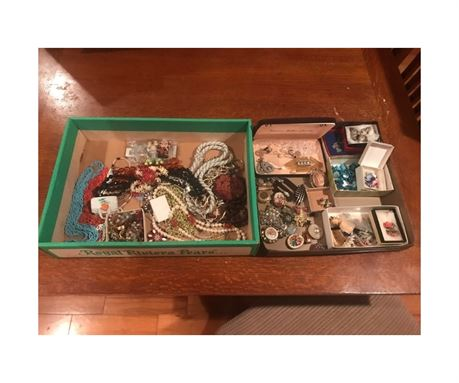 Estate Lot of Costume Jewelry